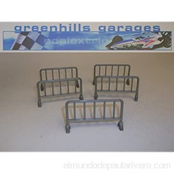 Greenhills Scalextric Slot Car Accessory Crowd Barriers x5 - 1:43 Scale MACC335