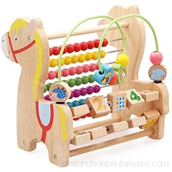 MAATCHH Bead Maze Bead Maze Toy Roller Coaster Preschool Early Education Toys Regalo para niños Niños Niños Niñas para Niños Niños (Color : Multi-Colored Size : One Size)