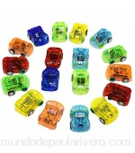 Iwinna 10pcs Friction Powered Cars Push and Go Toys Pull-Back Vehicles Racing Cars Mini Car Toy Baby Toddler Toy Set(Random Colors)